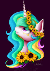 Sunflower by Victoria-Luna