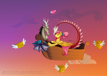 Love (and shipping) in the air. by Victoria-Luna