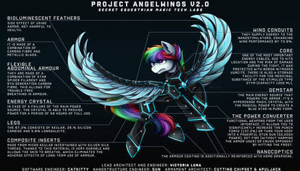 Project 'ANGEL WINGS' by Victoria-Luna