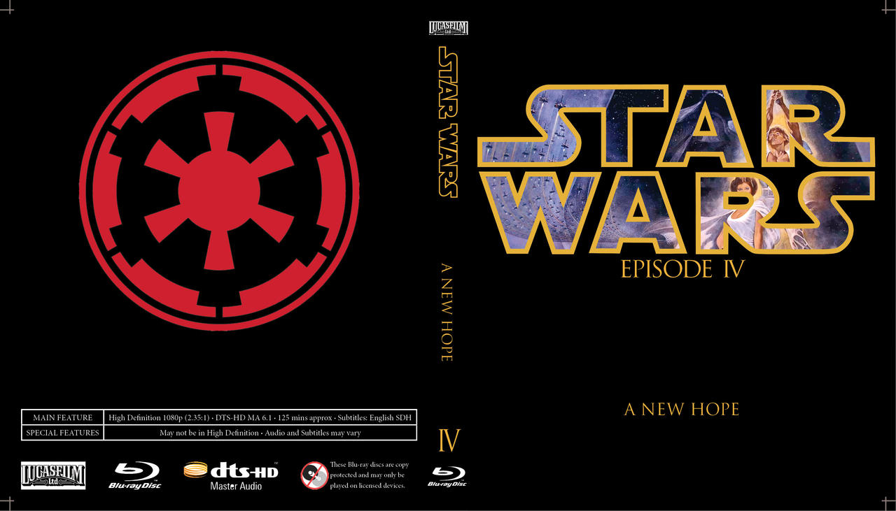 Star Wars Episode Iv A New Hope By Clinging2thecross On Deviantart