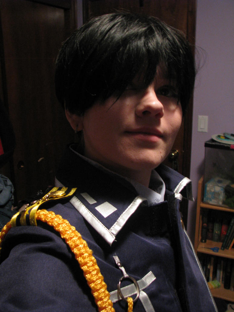 Roy Mustang midnight selfie 3 by fluffpuffgerbil