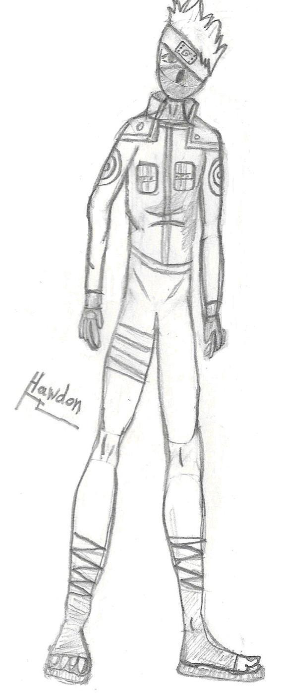 Kakashi Whole Body by Hawdon on deviantART