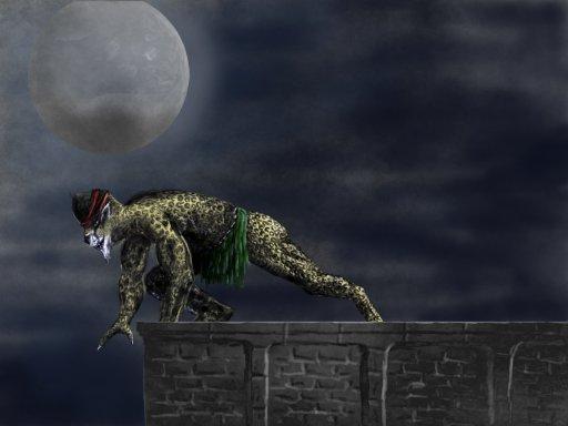 Leopold the cheetah Warrior by pinae on deviantART