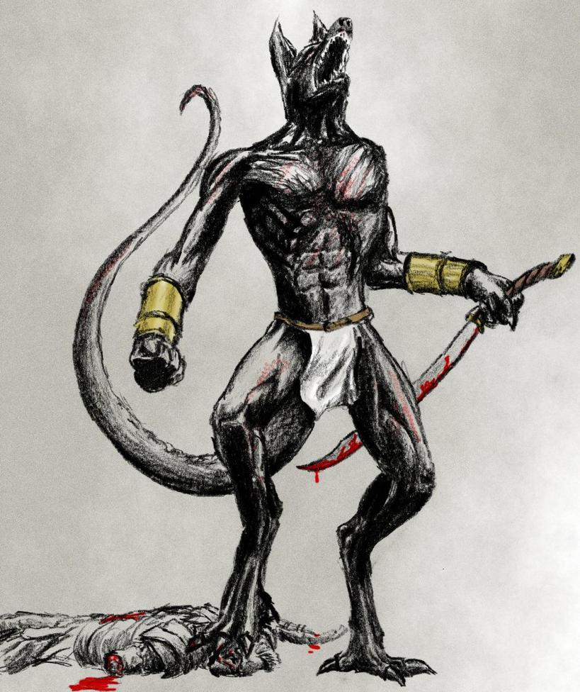 Anubis Warrior By Pinae On DeviantArt