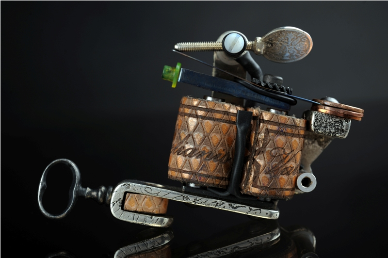 Sterling silver tattoo machine by SkinDiggers on DeviantArt