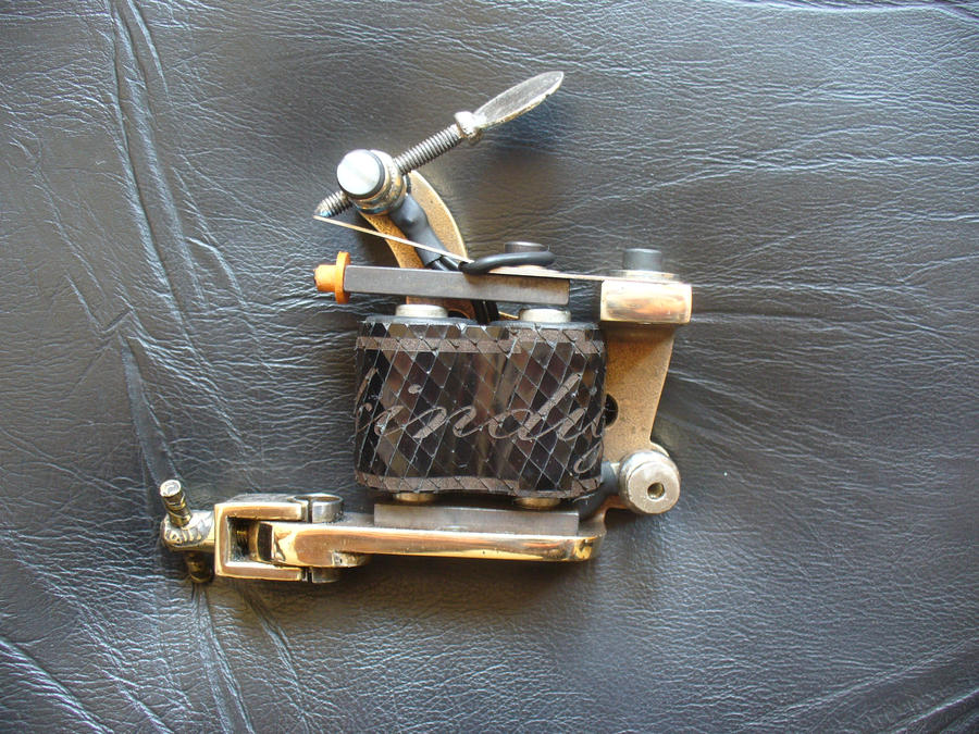 Micky Sharpz tattoo machine 2 by ~SkinDiggers on deviantART