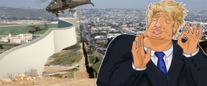 When Trump's Wall is Built Just Right by InfraredMoth