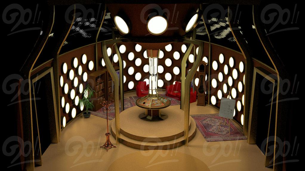Tardis interior custom by ginovanta