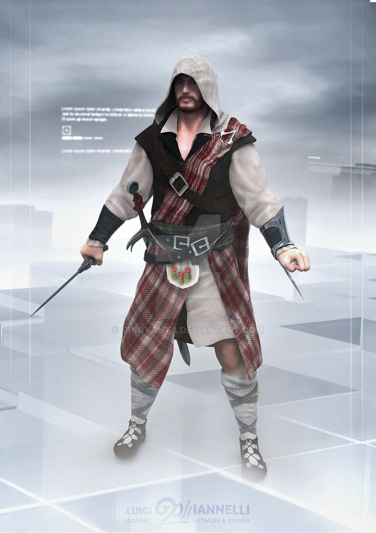Scottish Assassin by ginovanta