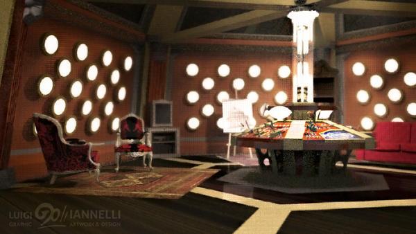 Custom TARDIS Console Room mark 2 by ginovanta
