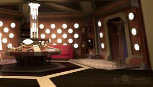 Custom TARDIS Console Room mark 2