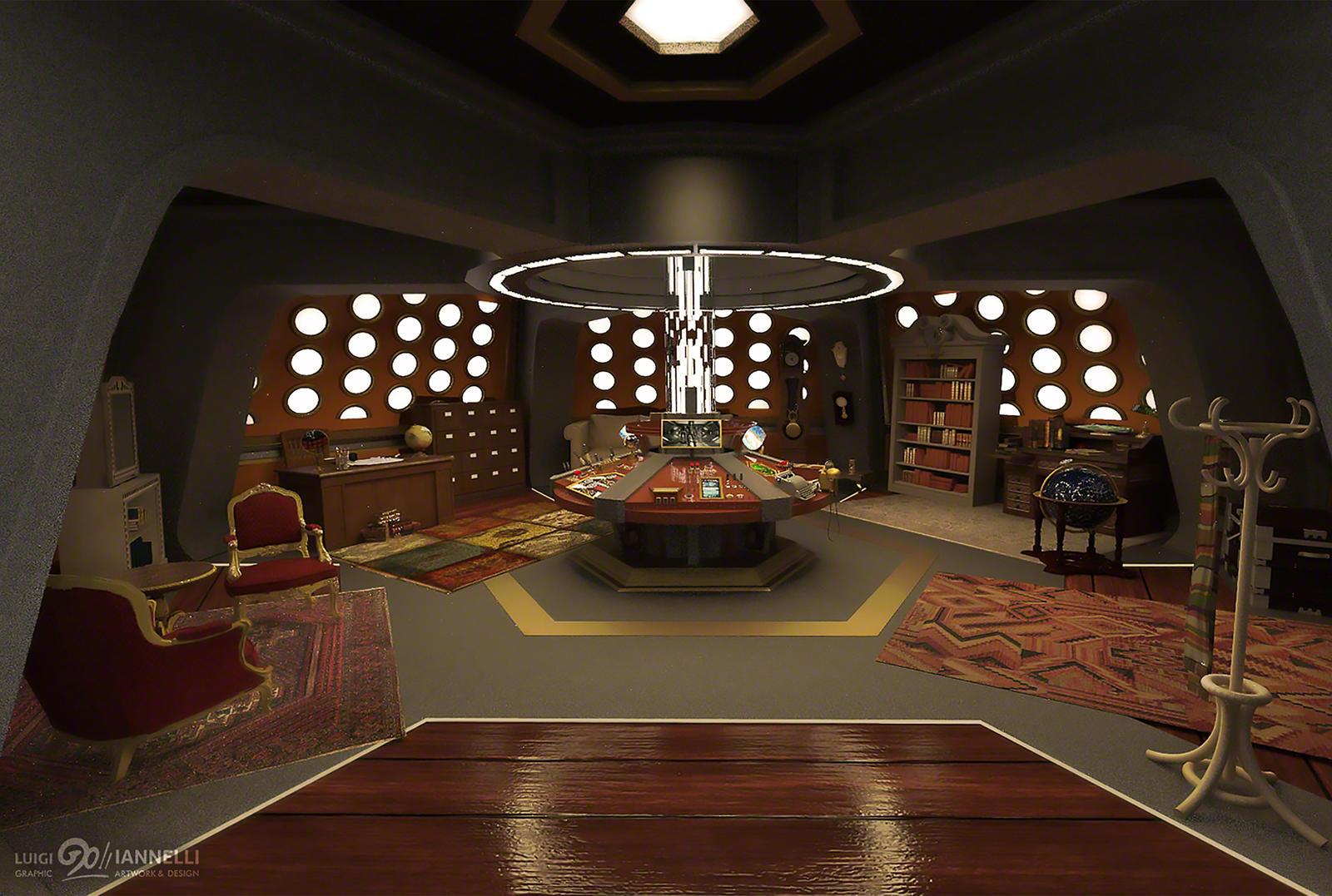 Custom TARDIS Console Room mark 3