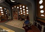 Custom TARDIS Console Room mark 3 - Library side