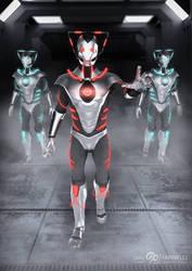 Custom Cybermen by ginovanta