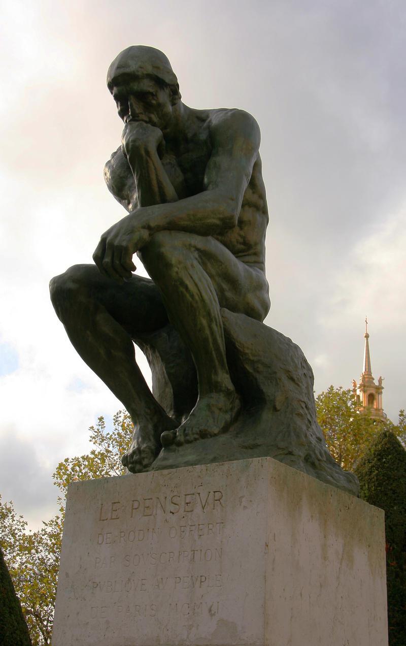 Le Penseur by vmulligan