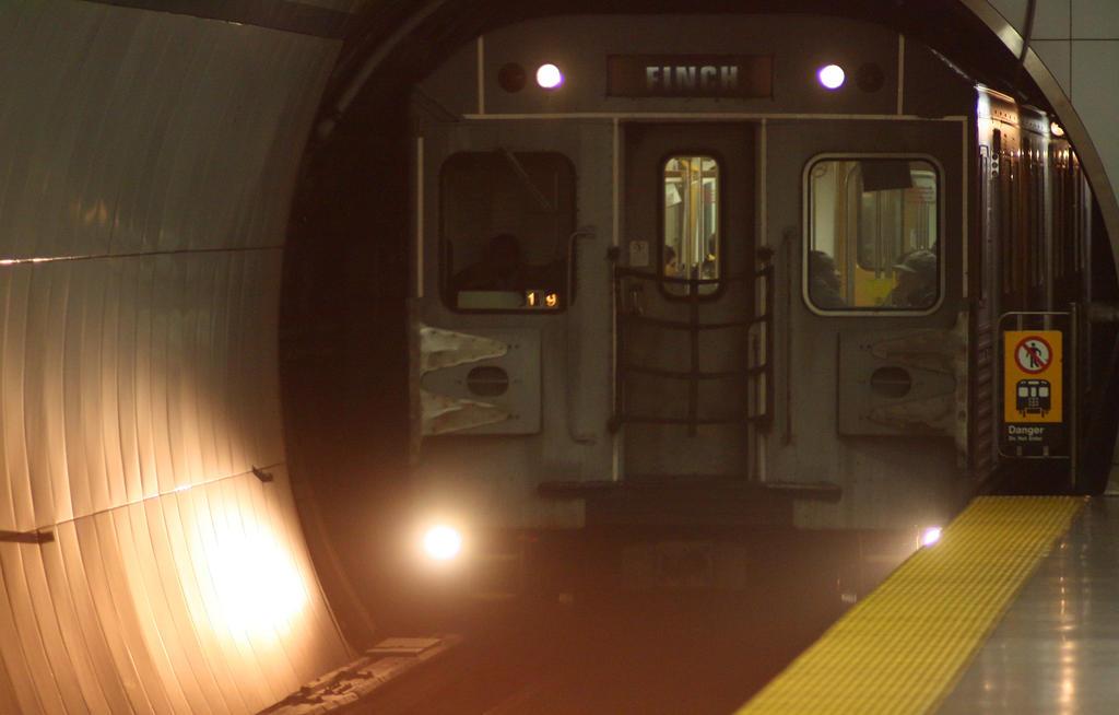 Subway Train by vmulligan