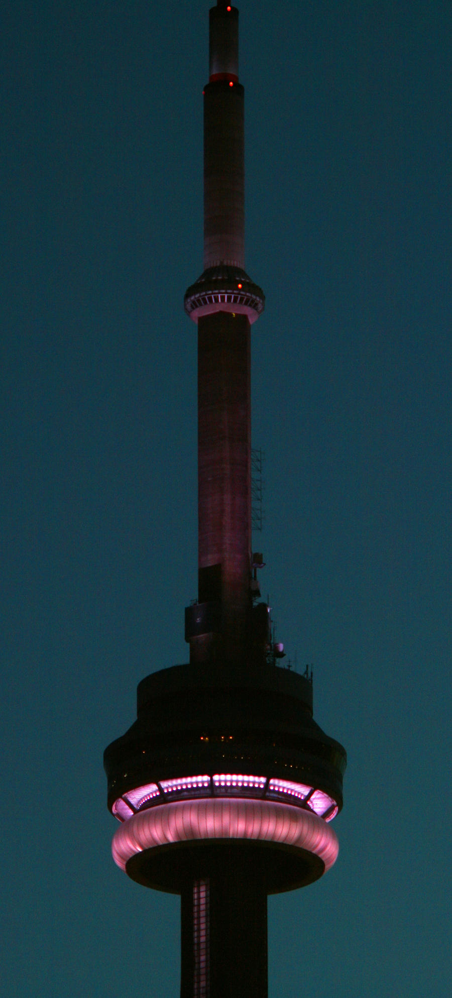 CN Tower at Dusk by vmulligan