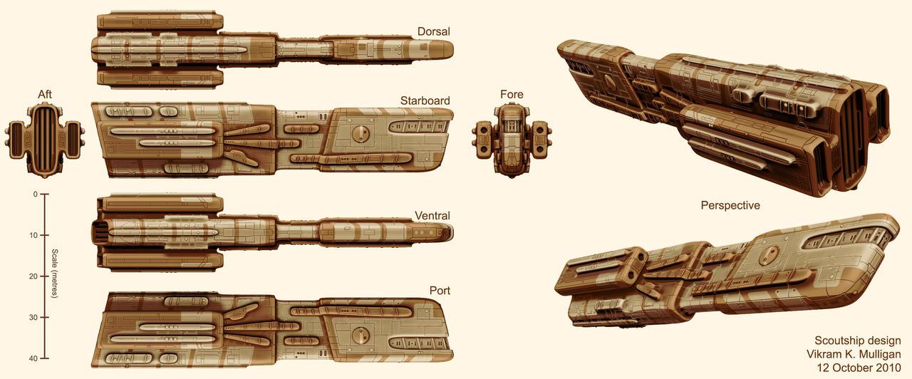 Scoutship Design by vmulligan