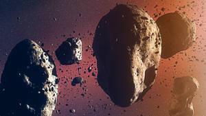 Asteroid Field WiP
