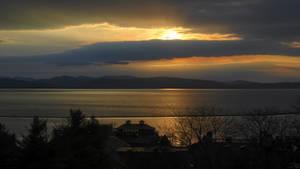 Sunset in Vermont