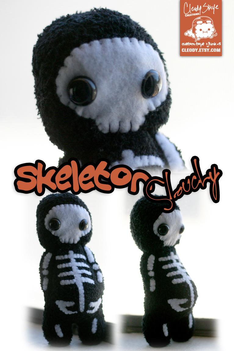 Skeleton Slouchy by cleody