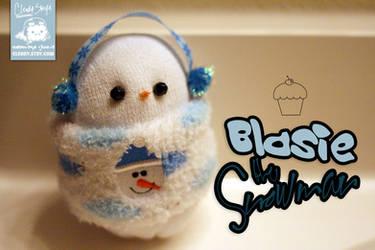 Blasie the Snowman by cleody
