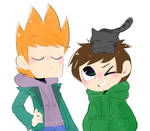 Eddsworld - Matt, Edd and lil Ringo