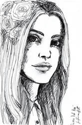 Lana Del Rey by LilianSK