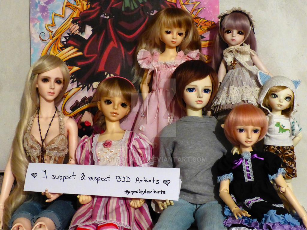 I support BJD Artists! #probjdartists by Stratolily