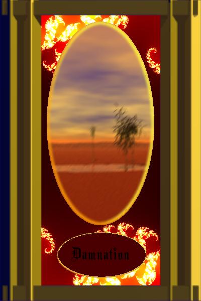 Tarot Card-Damnation by yuridragon17