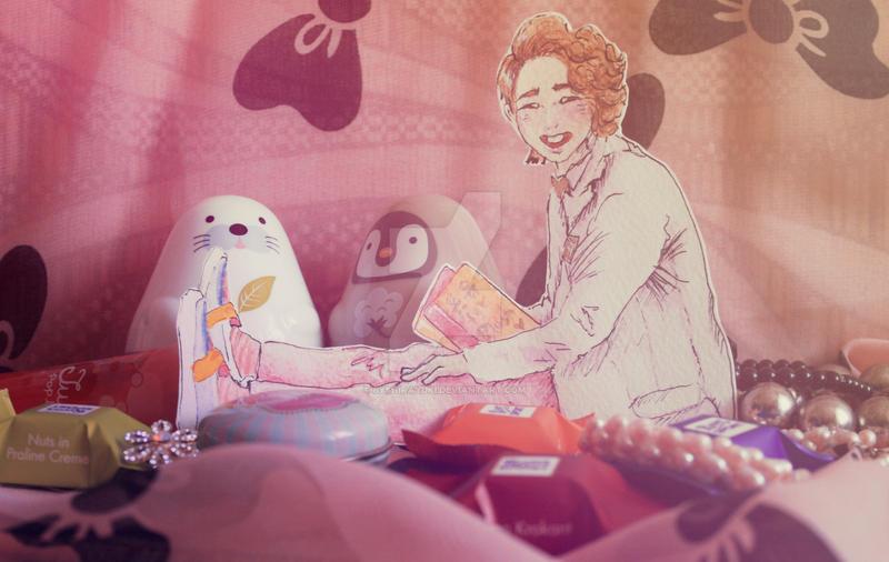 onew's etude. by byshirayuki