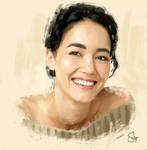 Sandrine Holt (color)