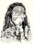 Portrait of Eikinnen/Oak Woman
