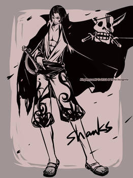 BLACK AND WHITE - OP1 -SHANKS