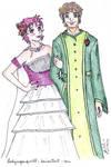 Sketches Meme 2 - The Wedding by ladysugarquill