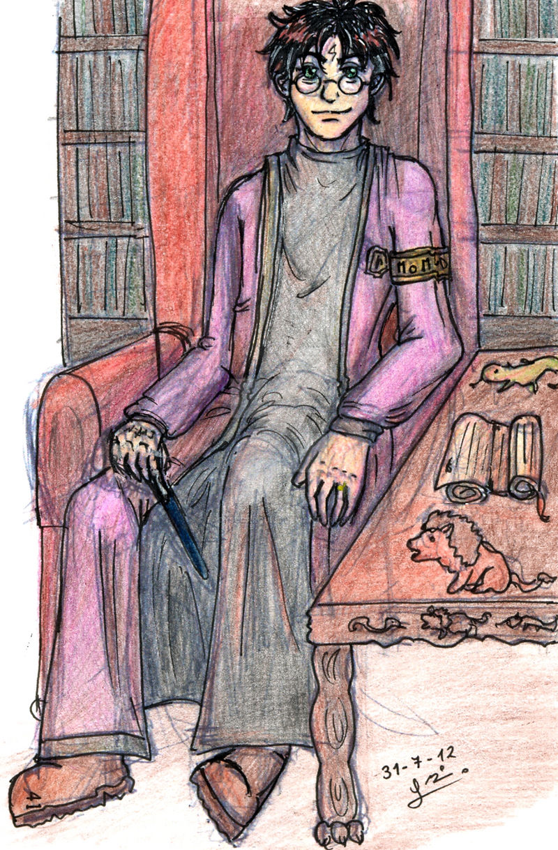 Head Auror Harry - King of Wands