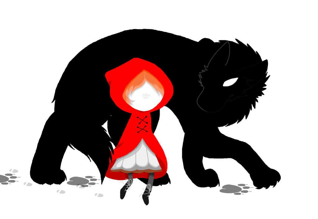 how to draw red riding hood
