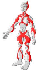 My Ultraman redesign