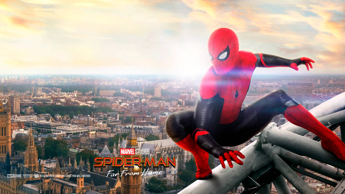 Movie Poster 2019: SPIDER-MAN FAR FROM HOME Wallpaper HD By STRIKEgallery On