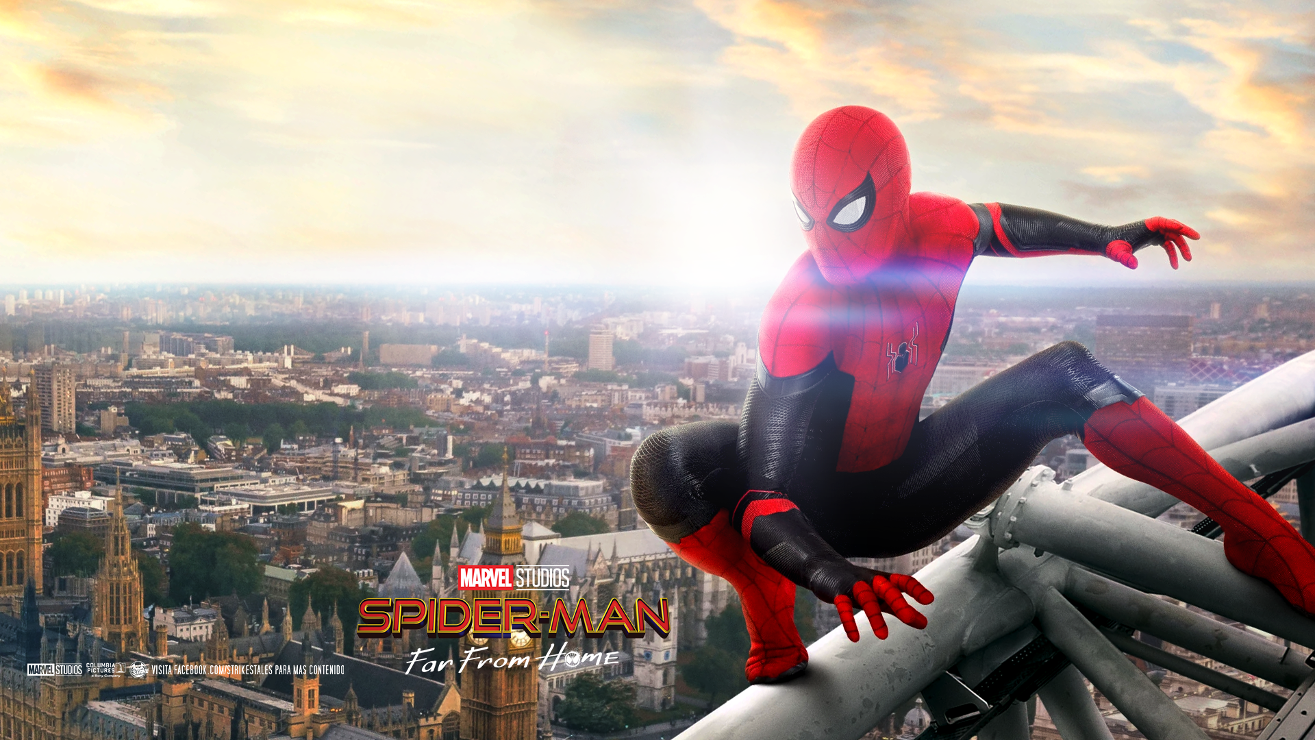 Spider Man Far From Home Wallpaper Hd By Strikegallery On Deviantart