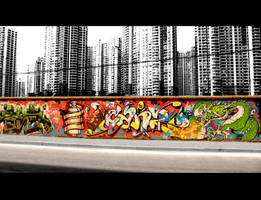 Shanghai Graffiti 10 by sylences