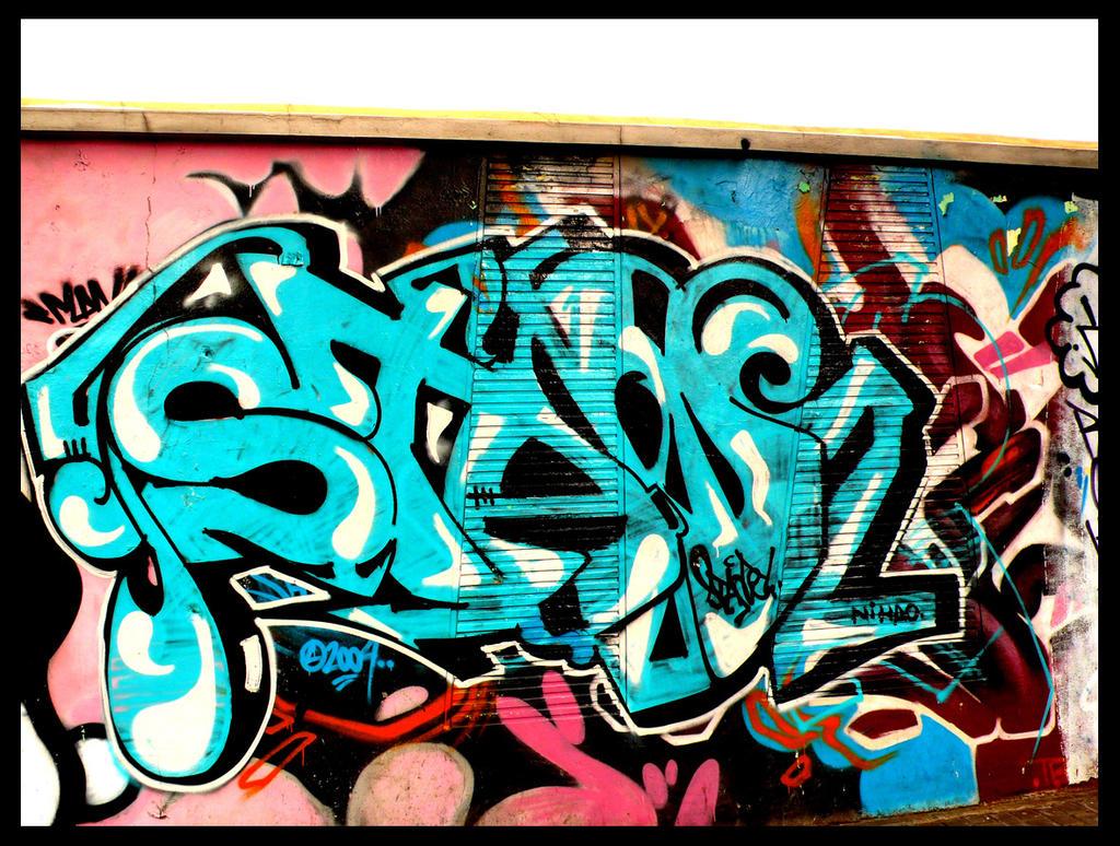 Shanghai graffiti 101 by sylences