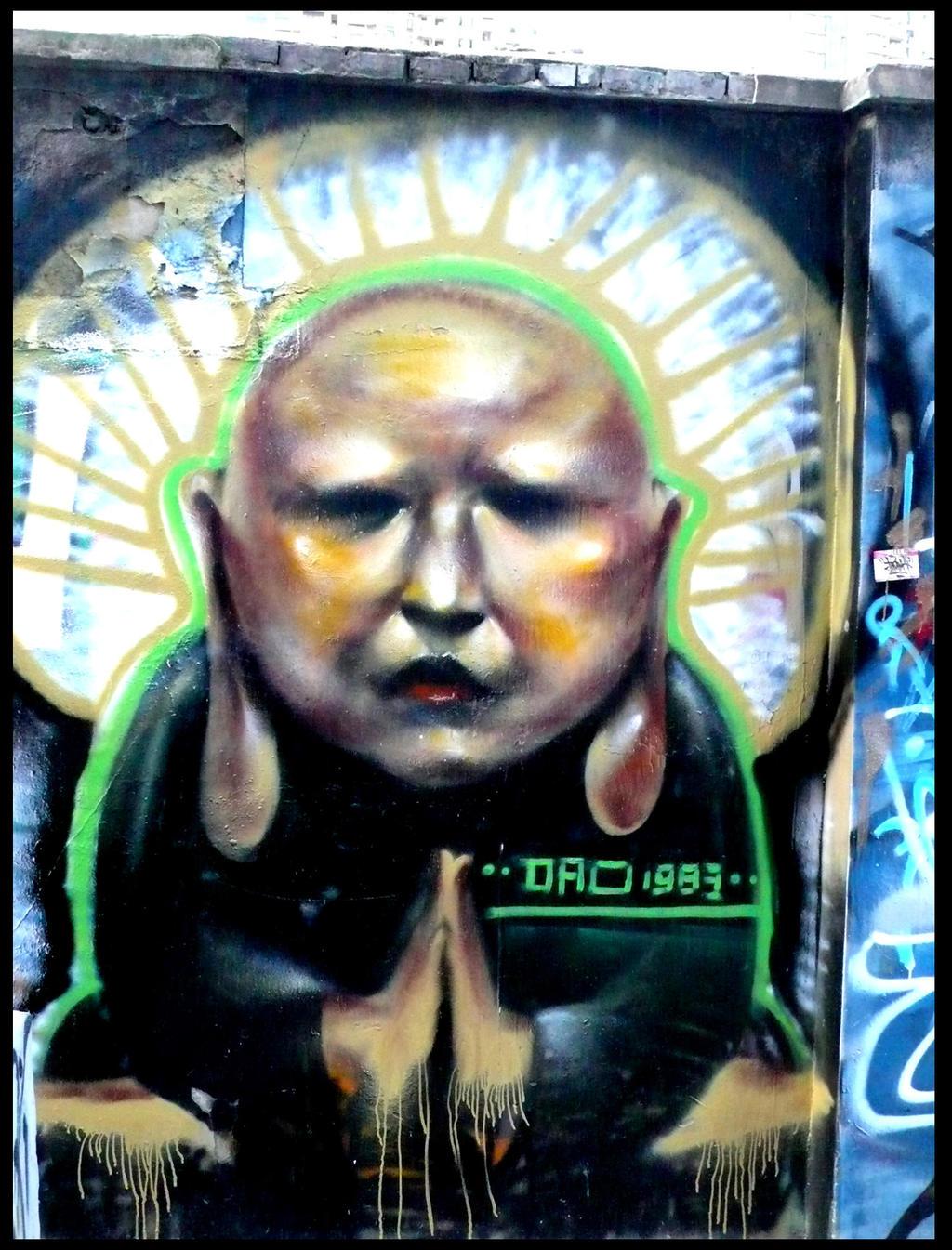 shanghai graffiti 168 buddha by sylences on deviantart