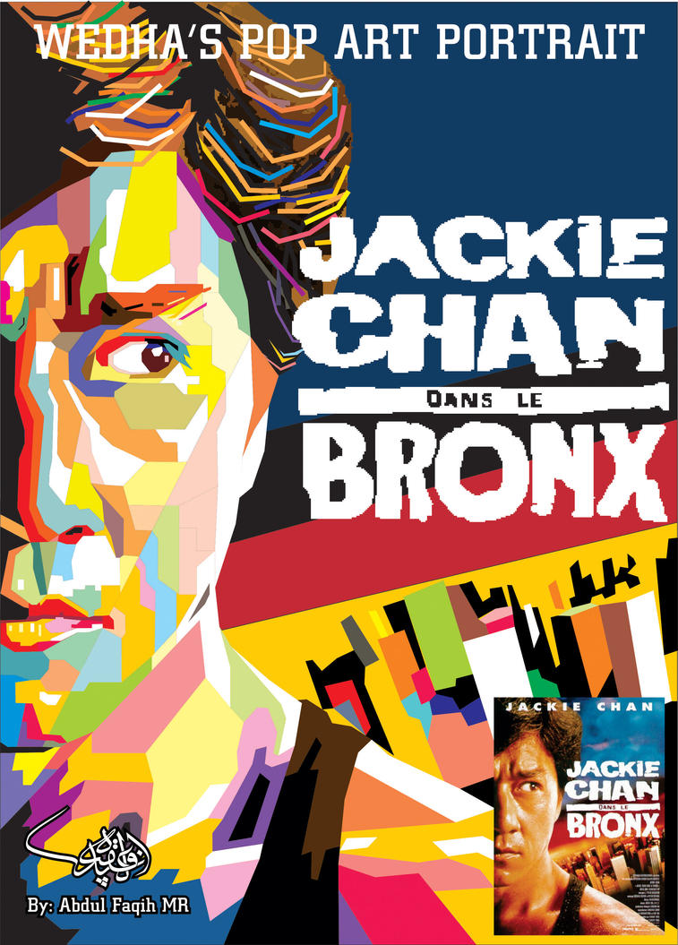 Jackie Chan in WPAP 2 by viqh