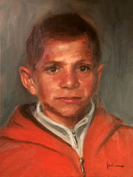 Portrait of a Palestinian Child