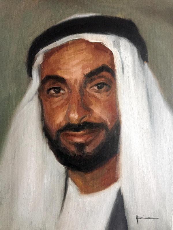 Zayed Bin Sultan by m-ajinah