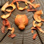 Bear | Avocado pit carving