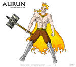 Aurun: Maahou Hero of Fire