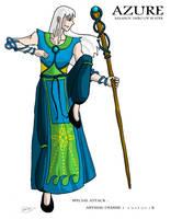 Azure: Maahou Hero of Water by JTtheNinja