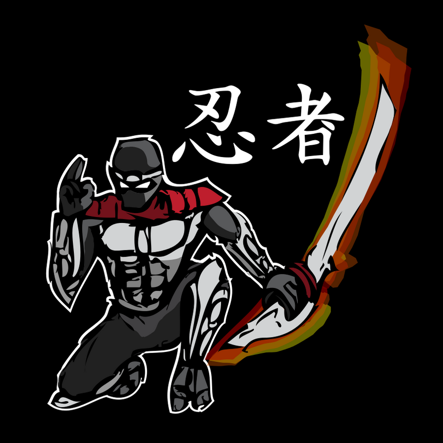 New ninja t-shirt design by JTtheNinja